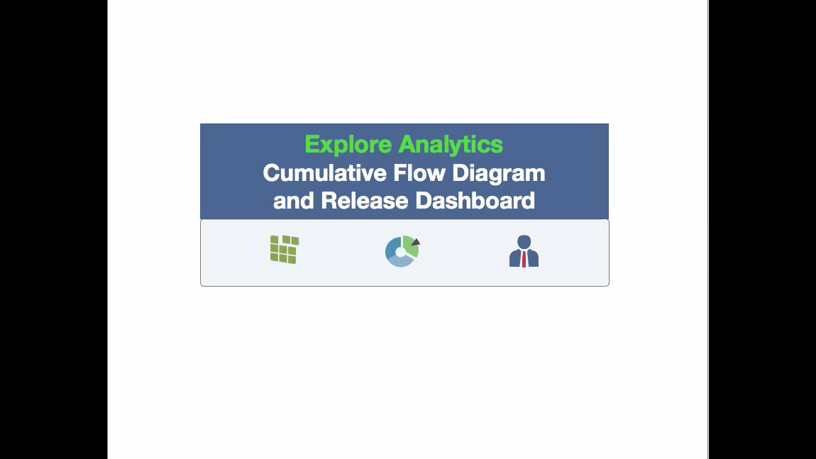 Cumulative flow diagrams and release dashboard for servicenow ccuart Gallery