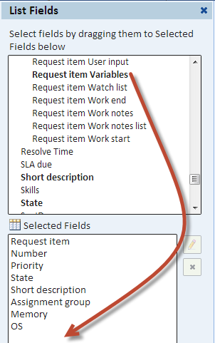 Reporting on ServiceNow Variables - Explore Analytics: The Wiki